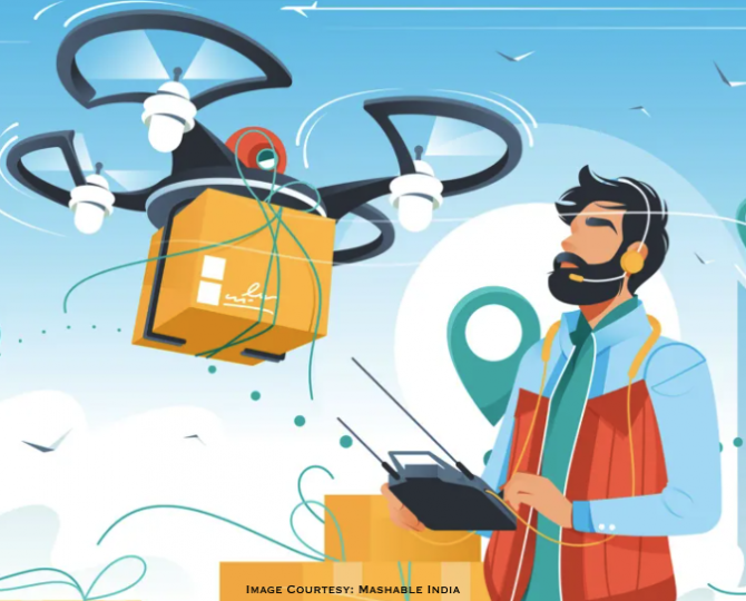 Food Delivery Platform Swiggy and ANRA Technologies Receive Approval for Drone Trials for Food and Medical Package Deliveries