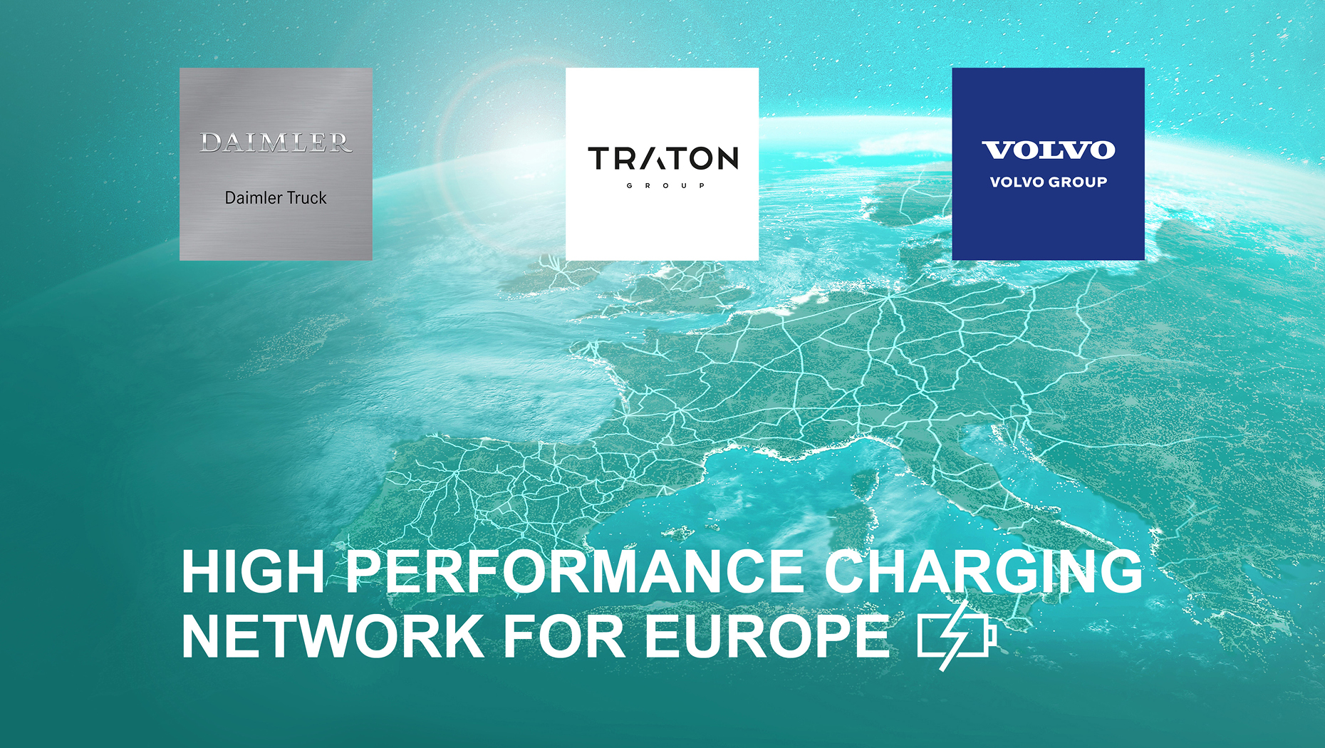 Leading Commercial Automakers TRATON GROUP, Volvo, and Daimler Truck To Form a $593 Million JV to Develop Electric Truck Charging Network in Europe